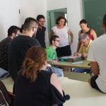 Alumnos de la Universidad de Murcia catalogan el fondo documental de Bullas