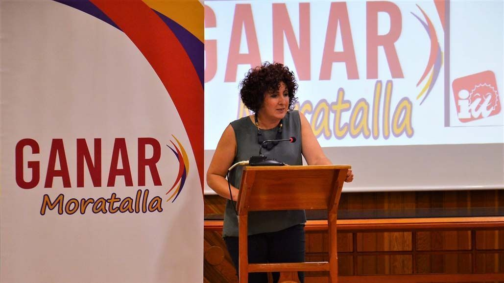 """""""Seguiremos trabajando, porque nosotros no sabemos hacer otra cosa y porque es nuestro compromiso con el pueblo de Moratalla"""", Candi Marín"""