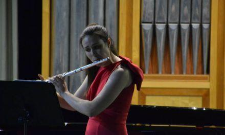La ceheginera María Ruiz realiza su recital fin de carrera acompañada de la Sociedad Musical de Cehegín