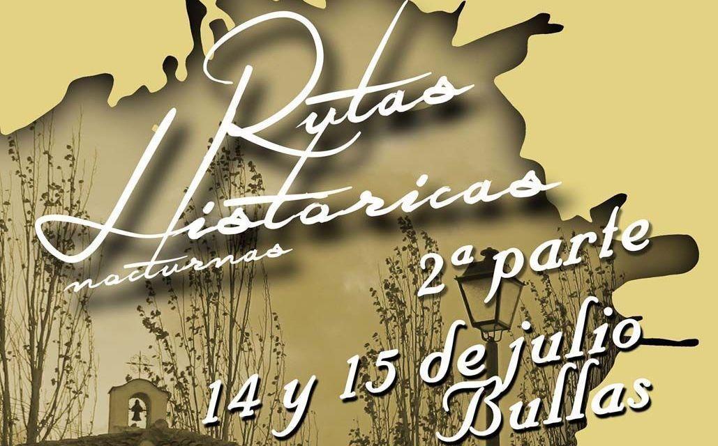 Este fin de semana nuevas rutas históricas guiadas en Bullas