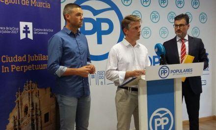 El PP destaca los avances logrados para Caravaca en turismo, empleo, educación e infraestructuras a mitad de la legislatura