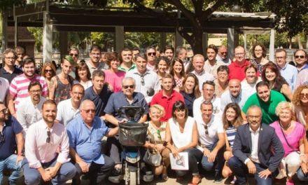 González Veracruz presenta un proyecto político moderno para un PSOE integrador, municipalista, dinámico y con liderazgo para lograr el cambio en la Región