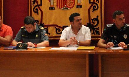 Reunión del concejal Juan Valera con las organizaciones agrarias, cooperativas y comunidades de regantes para hablar de seguridad en los campos