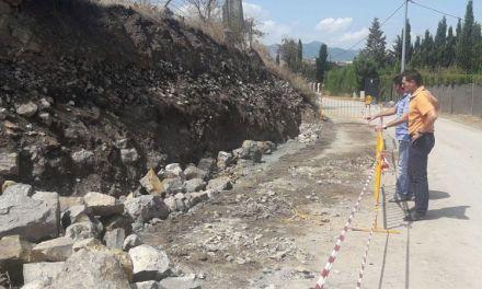 Comienza en Cehegín la reconstrucción del muro de Begastri