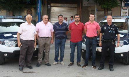 Presentados los dos nuevos vehículos que reforzarán el servicio de la Policía Local de Cehegín