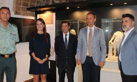 Declarado Bien de Interés Cultural el conjunto de estatuas de la villa romana de Los Cantos, en Bullas