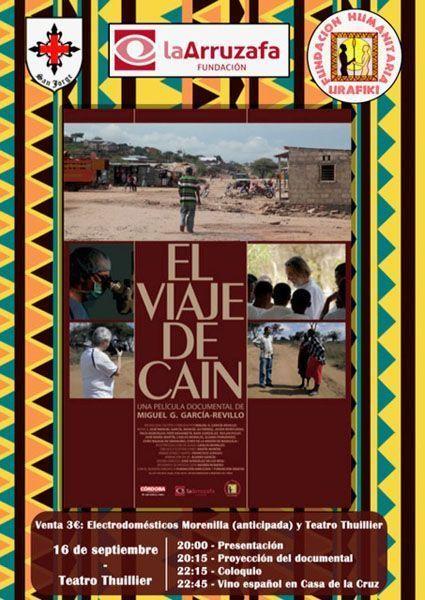 'El viaje de Caín' se proyecta este sábado en el teatro Thuillier de Caravaca, junto a una charla-coloquio