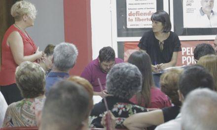 «Me ilusiona liderar un partido del siglo XXI que le de el baño de transformación y modernidad que necesita Murcia»; María González, candidata a liderar el PSOE-RM