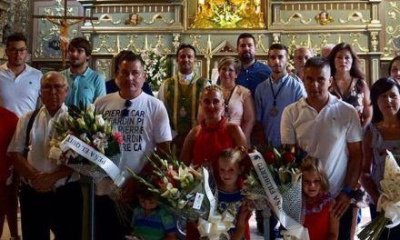 Ofrenda floral taurina a la Virgen de la Esperanza