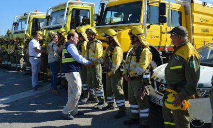 El Plan Infomur cierra la época de peligro alto de incendios con menos de la mitad de superficie quemada que hace un año