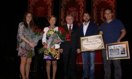 Sentido y afectuoso reconocimiento en Calasparra al fallecido Prudencio Rosique