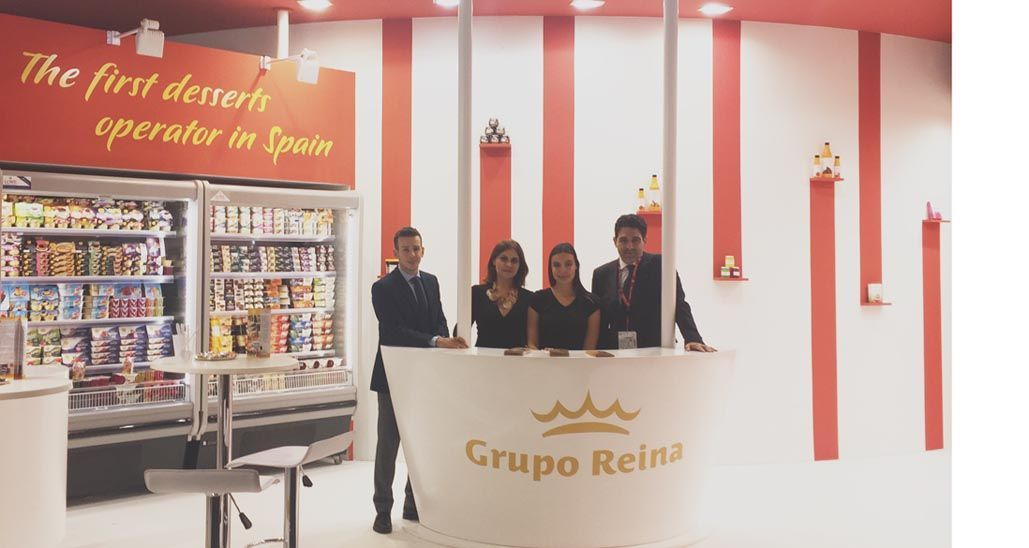Grupo Postres Reina muestra sus productos en Anuga Food Tec