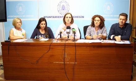 Cehegín se prepara para unas intensas jornadas educativas dirigidas a varios sectores de la sociedad