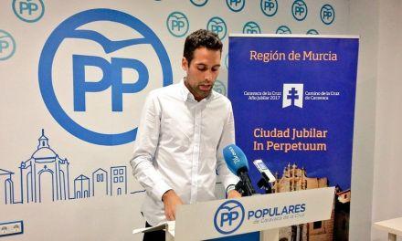 El Partido Popular acusa al Ayuntamiento de una gestión deficiente y arbitraria de la Policía de Caravaca