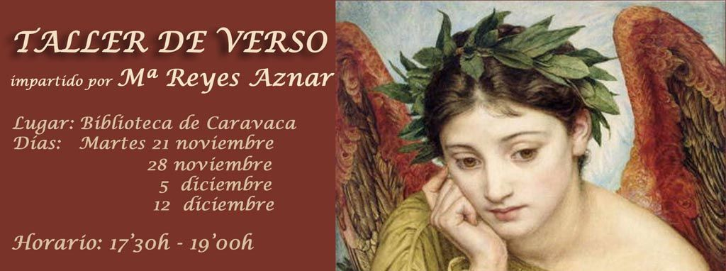 La Casa de la Cultura de Caravaca acoge a partir del 21 de noviembre un Taller de Verso