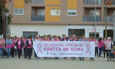 Mula se moviliza para apoyar a los enfermos de cáncer de mama