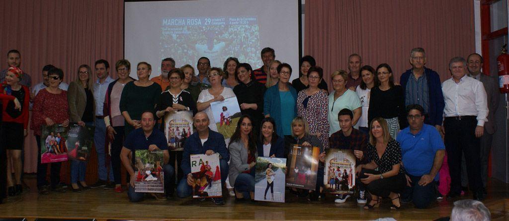 """Calasparra se mueve"""" presenta el calendario solidario 2018"""