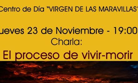 El centro de día de Cehegín organiza una charla para acercarse a la realidad de la muerte como sabiduría para la vida