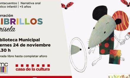 Cuentacuentos infantil a cargo de Librillos el viernes 24 en Calasparra
