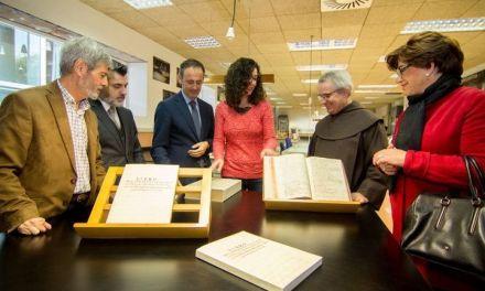 Cultura recupera la historia del Convento de los Carmelitas Descalzos de Caravaca de la Cruz con la restauración de su 'Libro Becerro'
