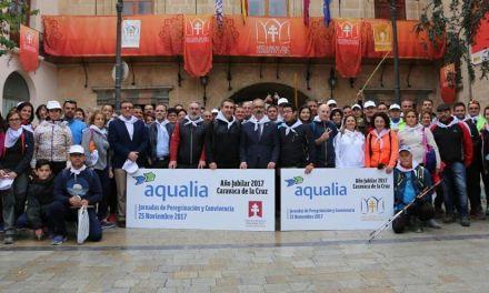 Aqualia reúne a un centenar de sus trabajadores en Caravaca con motivo del Año Jubilar 2017