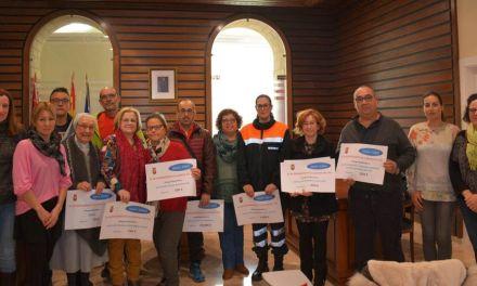 La Alcaldesa entrega 25.500 € a 13 asociaciones de Campos del Río