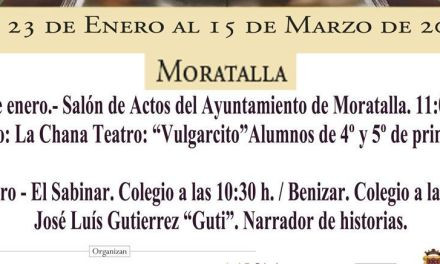 Este viernes se celebran las jornadas para niños de primaria 'Una Educación para el siglo XXI' con varios actos en Moratalla, Benizar y El Sabinar