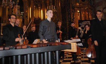 El calasparreño Ángel Rodríguez García, músico percusionista
