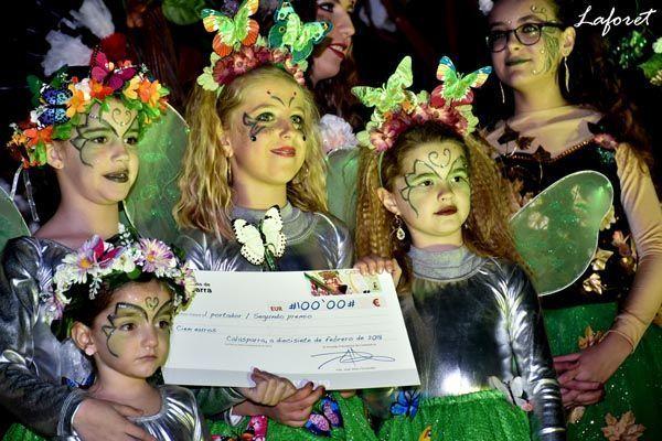 Premiadas en el Carnaval