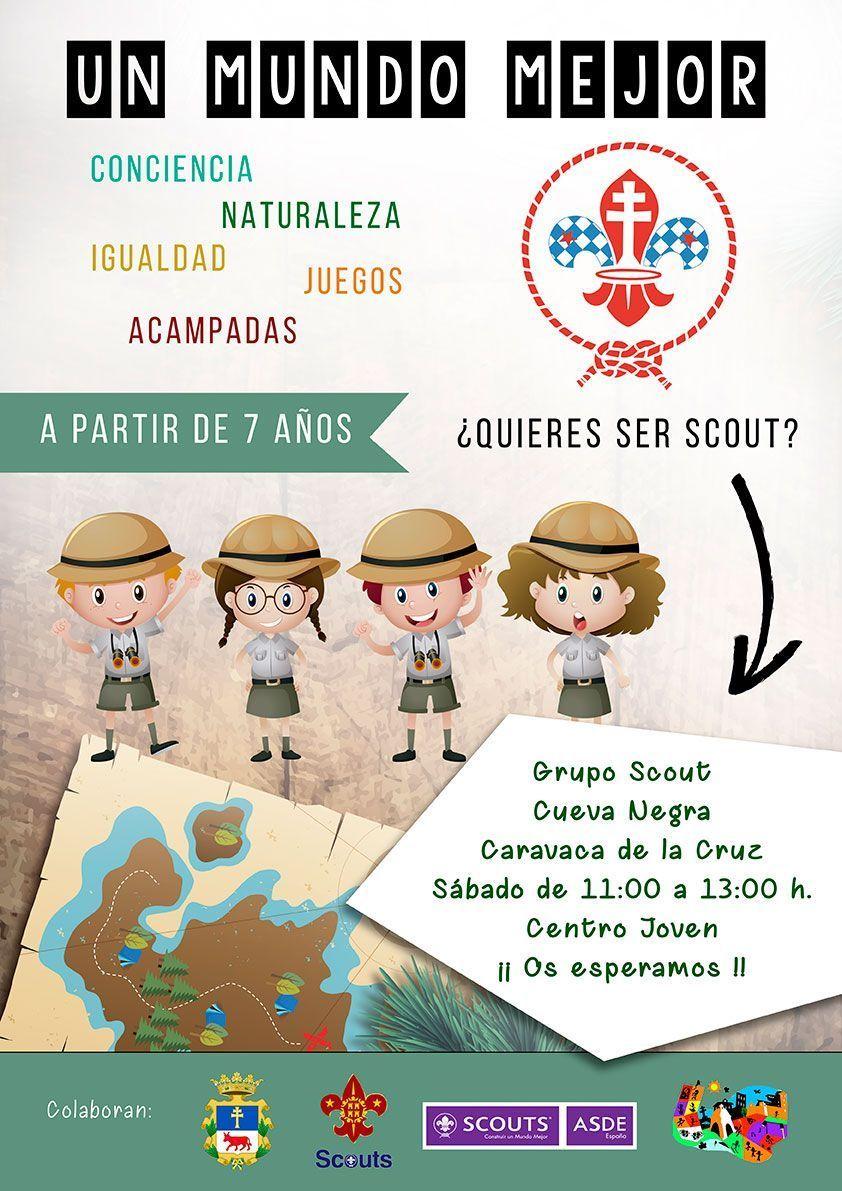 Cartel Scout Caravaca