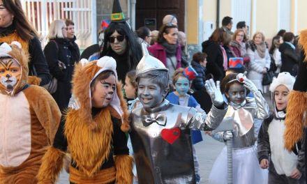 Los más pequeños disfrutan del Carnaval de Bullas