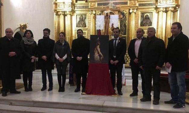La imagen del 'Cristo amarrao a la columna' en el cartel de la Semana Santa 2018 de Bullas