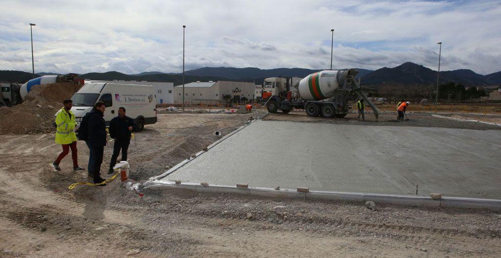Iniciadas las obras de construcción de una Zona Verde en el Barrio de San Antonio de Cehegín