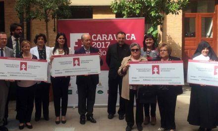 La Fundación 'Camino de la Cruz' dona 170.000 euros a Cruz Roja, Jesús Abandonado, Cáritas y la Residencia de Ancianos de Caravaca