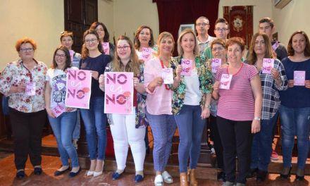 «No es no», campaña de sensibilidad con motivo de las Fiestas de San Isidro en Mula