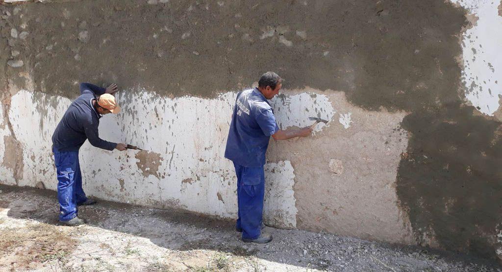 Obras de adecuación y mejora en la pedanía de Casas Nuevas