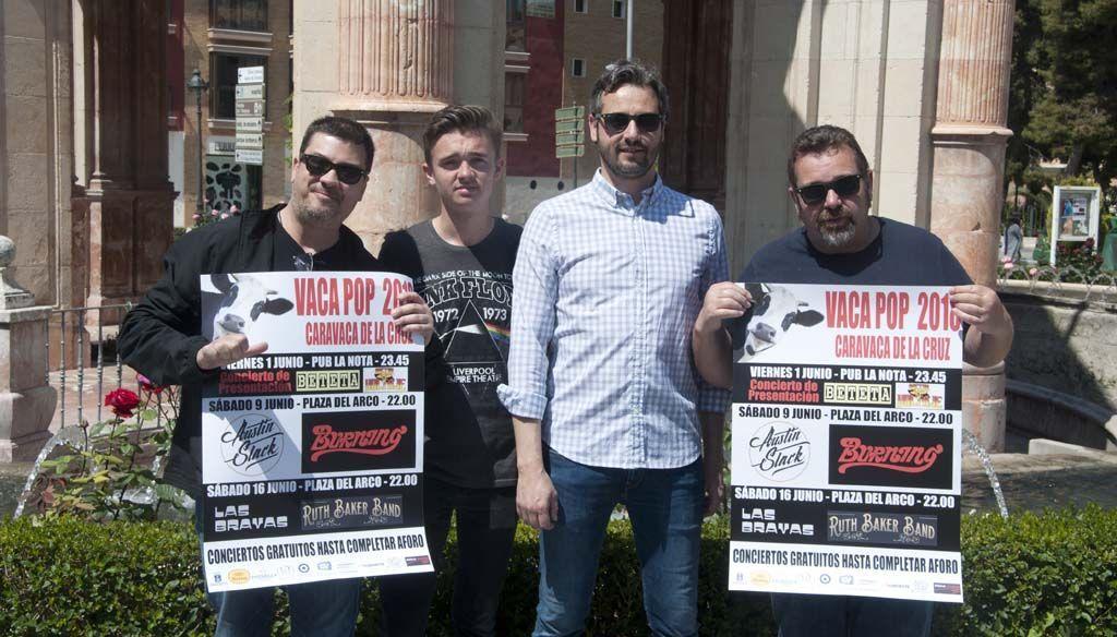 La nueva edición del Vaca Pop trae a este verano a Caravaca a los Burning
