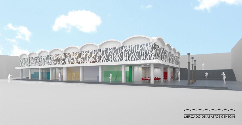 Presentado el proyecto para remodelar la Plaza de Abastos, donde se situará la Escuela de Hostelería y Turismo del Noroeste