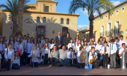 Primer festival de Bandas de Música Juveniles en Pliego