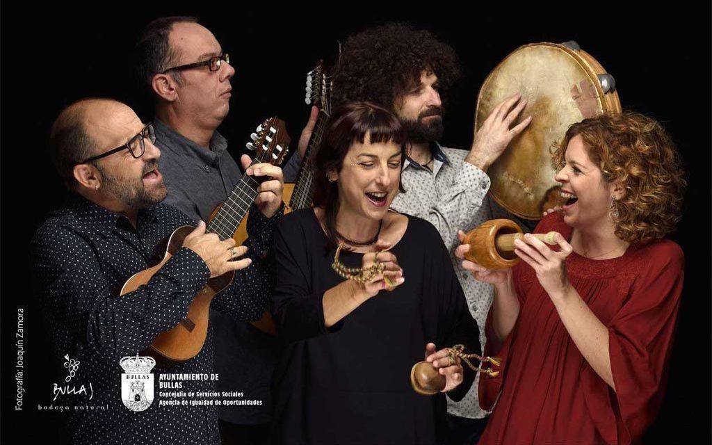 'Mujeres con raíz' ofrecen un concierto este viernes en la Casa de Cultura
