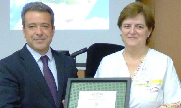 El Hospital Comarcal del Noroeste recibe el Certificado ISO 14001:2015