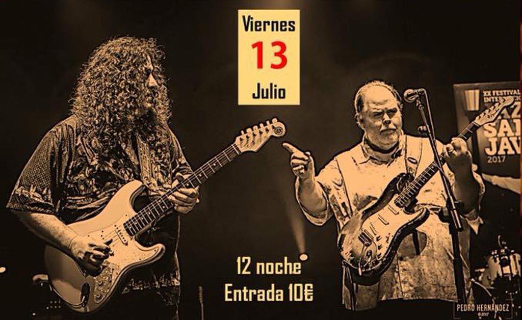 Buddy Whittington y Santiago Campillo, el 13 de julio en La Nota