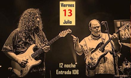 Buddy Whittington y Santiago Campillo, el 13 de julio en La Nota