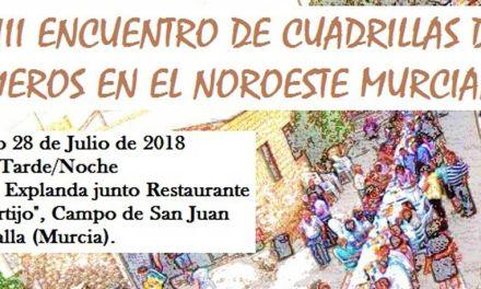 Campo de San Juan acoge el Encuentro de Cuadrillas de Animeros en el Noroeste Murciano