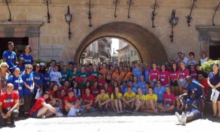 Caravaca, sede el 'European Youth Meeting 2018', en el que participan un centenar de jóvenes y autoridades de siete países