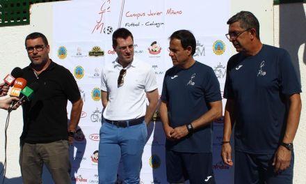 El VI Campus Javier Miñano de fútbol arranca con 129 alumnos