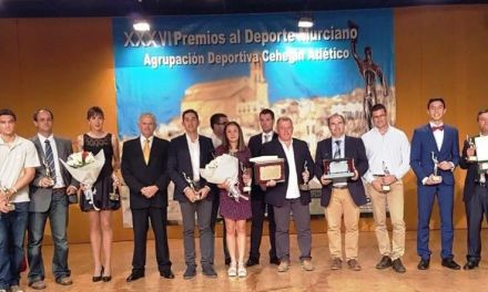 Convocados los Premios al Deporte Murciano de la temporada 17/18 que concede el Cehegín Atlético