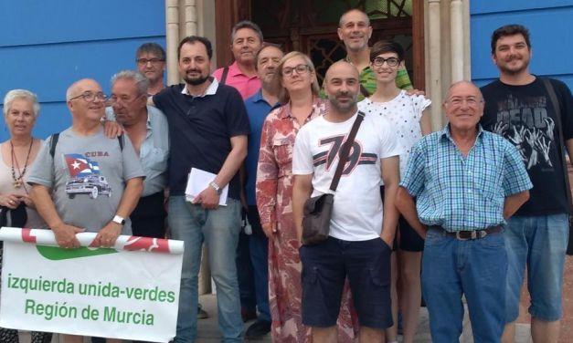 Cristina López Amor, candidata de IU-Verdes Bullas a las elecciones municipales