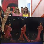 """Blanca del Rey visita la exposición fotográfica """"El Desplante"""""""