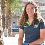 """""""Me dedico principalmente a carretera y pista porque montaña no la he practicado mucho"""", Celia Bautista, la campeona regional de contrarreloj ha revalidado su título de campeona de carretera"""